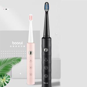 فرشاة الأسنان الكهربائية سونيك USB قابلة للشحن فرشاة الأسنان رئيس استبدال ماء الأسنان الاهتزاز التبييض نظيفة مصنع بالجملة Y3903