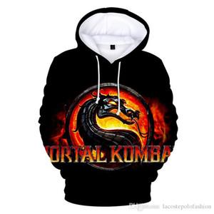 Das Spiel Mortal Kombat 11 Element 3D Print Mann Hoodies Mode Frau Hooies Paar passende Kleidung