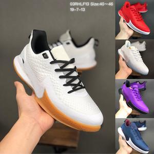 Großhandel Zoom Spurs Nummer 24 8 IV 4 Protro Mamba Fokus EP-Basketball-Schuhe Hornissen Del Sol ZK4-Sport-Trainer-Männer Turnschuhe 40-46