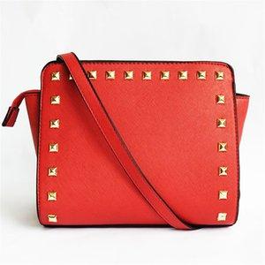 Designer-WomenS Canvas Shoulder Bag High Quality Female Hobos Single Shoulder Bags Vintage Solid Multi-Pocket Ladies Rivets Bolsas#561