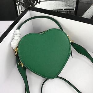 2020 moda feminina carteiras bolsas Coração saco em forma bolsas mulheres luxo sac banane saco crossbody
