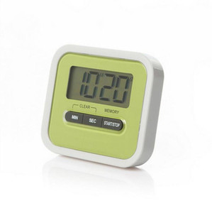 Kitchen Timer Digital Battery Operated LCD Display Minute Second Countdown Time Reminder Cooking Alarm OOA7962