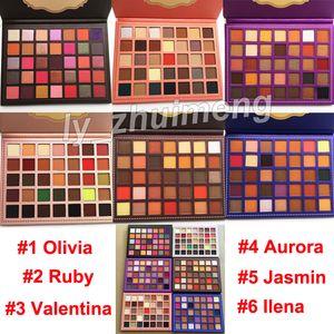Makyaj 35 Renkler Göz Farı Paleti Güzellik NUDE Mat Işıltılı Göz farı Olivia Paleti Yakut Valentina far güzellik Sıcak Marka Kozmetik