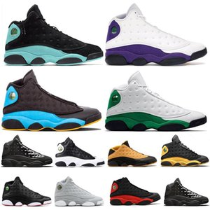 13s Island Green Bred Chicago Flint Men Women Basketball Shoes 13 XIII He Got Game Melo DMP Playoff Hyper Royal Sneakers Mens Trainers