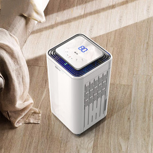 23L D Dehumidification Air Dehumidifier DH-02 Household Air Dryer Clothes Dryer Moisture Remover 220V Touch Panel Control 2L Tank Capacity