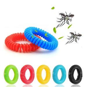 Adultos Anti Mosquito Repelente Pulseiras de Controle Pulseira Proteção contra Insetos acampamento ao ar livre Crianças aleatório Desparasitação Bracelet