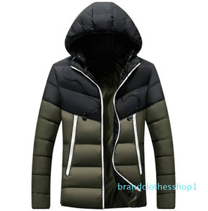 Top Quality Mens Designer Jackets Luxury Men Down Jacket Coats With Letters Hip Hop Warm Trendy Jacket Male Downs Parkas 5 Colors Wholesale