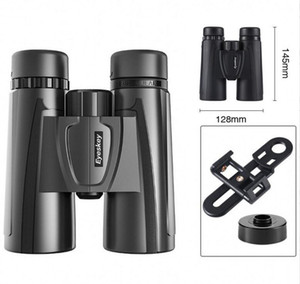 Eyeskey 10x42 HD Binoculars New Professional Compact Telescope Powerful Bak4 Night Vision Hunting Scope for Bird Watching Travel Stargazing