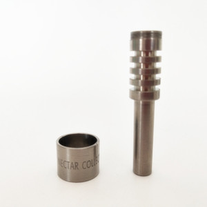 10mm  14mm 18mm Titanium Tip Nectar Collector Tip Titanium Nail Male Joint Micro NC Kit Inverted Nails Length 40mm Ti Nail Tips Hookah DHL