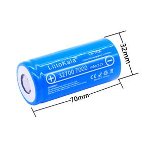 2019 nova LiitoKala Lii-70A 32700 3.2 v 7000 mAh lifepo4 bateria de célula recarregável 5C bateria de descarga para Backup Power lanterna