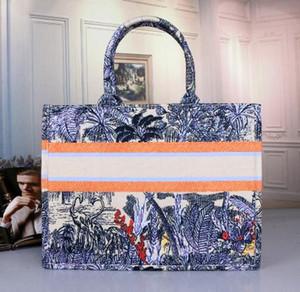 Новый 9 цветов 41 см классический эскиз Пляжные сумки Сумки для покупок дизайнерские сумки большой емкости красочные вишневый цвет цветы книга сумки