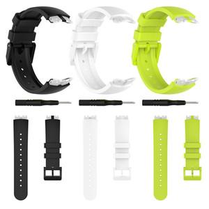 Совместимость с Ticwatch S мягкий силиконовый ремешок браслет Замена Спорт Резиновые ленты