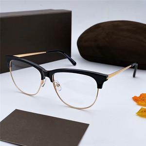 diseño de lujo las gafas de marco marco de la vendimia del ojo Miopía Moda retro famosa marca de los hombres de los vidrios de Gato que conduce Eyewear 5546