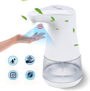 Pulvérisateur d'alcool à induction automatique à induction Bouteilles de distributeur de désinfection 360 ml machine de distributeur de désinfection approprié sans contact infrarouge sans contact