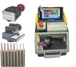 İyi 2 Kelepçe + Orijinal Sec E9 Lazer Anahtar Kesici, Çilingir anahtar kesici, Otomatik Çilingir Aracı, SEC-E9 otomatik kesme makinası