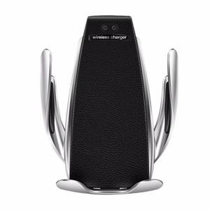 Wireless Car Charger di bloccaggio automatico per l'iphone android Air Vent Holder Telefono rotazione di 360 gradi 10W di ricarica rapida con la scatola