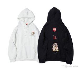 Autumn New Mens Harajuku Style Printed Pullover Hoodies Fashion Designer Hooded Sweatshirts Hip Hop Male Casual Streetwear Hoodie Tops 1008