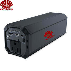 IP69 Inverter AC-Energien-Bank mit AC 100W Sinus-17W USB 18W Typ-C Ausgang 31200mAh Batterie Eingebaute für 3-100W Appliance Verwenden