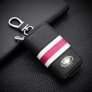 genuine leather car key case for skoda hyundai bmw mini Mercedes Benz for Volkswagen vw audi bag holder shell accessories covers