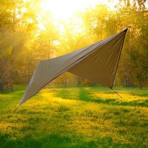 Открытый укрытие Sun Camping Hammock летающие палатка портативные легкие нейлоновые гамаки с ультрафиолетовыми гаммами VT0163