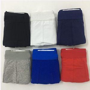 Algodón de lujo para hombre ropa interior boxer calzoncillos cortos famosos color sólido adulto joven diseñador boxeador sexy algodón para hombre boxeadores de pene corto para hombre