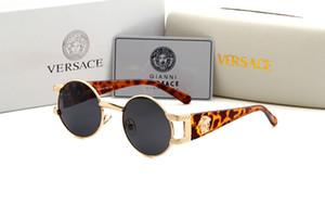 Летние мужские Метал Cолнцезащитные очки Роскошные солнцезащитные очки поляризованные Goggle Очки Стиль 8031 UV400 4 цвета опционного высокого качества