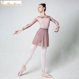 Yetişkin dans tulum Bale Elbise İçin Kadınlar Balerin Bale bodysuit dancewear Yoga leotards için Jimnastik Leotard