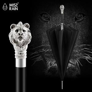 Grande Ombrellone Uomini dom Pioggia manico lungo marchio ombrello Gold Business animali di alta qualità ingranaggio della pioggia U5B