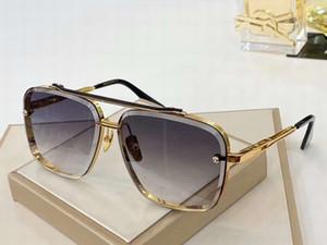 상자 골드 메탈 파일럿 선글라스 (121) 회색 그라데이션 렌즈 62mm 태양 안경 선글라스 남성 선글라스 안경 남여 새로운