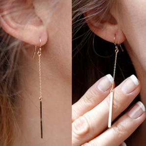 Vintage Statement Drop Earrings For Women New Bohemia Fashion Jewlery dangle earringKorean Metal Geometric Golden Hanging Swing Earring