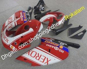 RS125 دراجة نارية شل ل Aprilia RS 125 2001 2002 2003 2004 2005 01-05 RS125 XEROX ABS Fairing Motorcycle Parts أحمر أبيض أسود