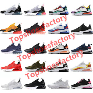 2020 New react mens running shoes Bleached Coral Dusk Purple Grey and Orange In My Feels triple black men women Outdoor sports sneakers