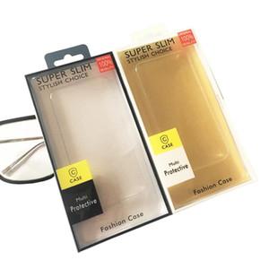 Universal PVC Plástico Paquete de caja al por menor vacío Empaquetado Tarjeta de inserción de papel para 5.5 pulgadas iPhone XS MAX XR X 8 7 6 Plus Samsung S9 S10