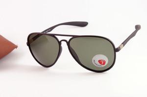 Marka Liteforce Polarize Güneş Gözlüğü Erkek / Womens Lüks Moda Vert Büyük Gözlük 4180 Siyah Güneş Yeşil Lens 59mm