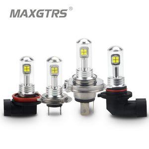 2x H7 H8 H11 9005 9006 HB3 HB4 Car Headlight CREE LED Chips Bulb Daytime Running Light 6000K Car Fog Lamps DRL DC 12 24V