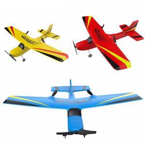 Z50 Rc Plane Epp Foam Glider Avião Gyro 2.4G 2Cr Rtf Controle Remoto Wingspan Aeronaves engraçados Meninos Aviões brinquedos interessantes