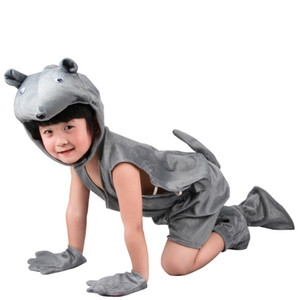 Cosplay Mouse Animals Costume Kids Jumpsuits Halloween Costume Christmas Carnival Party Summer Children Birthday Costume 6 Sizes