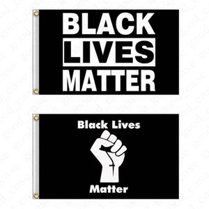I CAN'T BREATHE Flag 90*150CM 3*5 FT Black Protest USA Banners Letters Print Garden Flags American Parade Flags Home Party Decor D6411