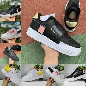 Venda N.354 Mens Tipo GS Casual Low Top 1 07 Mulheres N354 Designer Shoes Black White Utility Air 1s Trainers Dunk um corte skate Esportes