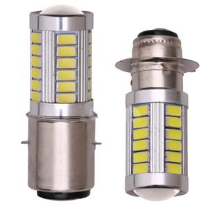 1 pc BA20D H6M H6 5630 LED Phare Ampoule Moto 5630 33SMD Led Accessoires Moteur Lumière Phare Brouillard LED Lampe Ampoule