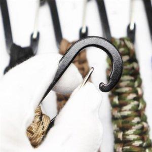 Восхождение аксессуары Открытый Survival Kit парашютом шнура Keychain Предел прочности Emergency Paracord веревочки Карабин для ключей