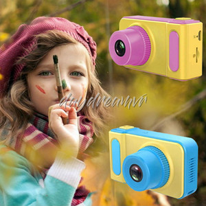 K7 Kids Camera Mini Digital Camera Cute Cartoon Cam 1080P Toddler Toys Children Birthday Gift big Screen Cam cheapest for Christmas gifts