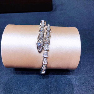Full Foret Snake Lady Bracelet Personnalité Trend Bracelets Femme Livraison Gratuite Twinkle Dance Durée Cadeau Donner des célébrités Noble