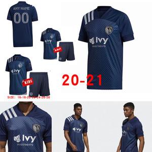 2020 Sporting Kansas City embroma los jerseys MLS PULIDO 9 Busio 13 RUSSELL 7 Gerso 12 15 20 21 Un poco camisetas de fútbol Jersey