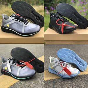 New Custom Zoom Fly Black White Man Designer Running Shoes Cheap Collaborate Marathon Woman Sport Fashion Sneakers Good Quality Size36-45
