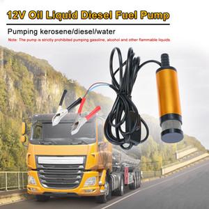 Freeshipping Oil Diesel Fuel Water Pump 12V Transfer Pump for Car Caravan Marine Boat