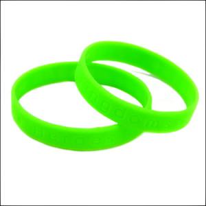 Onebandahouse Debossed Logo Wristband personalizar pulsera de silicona C19021501