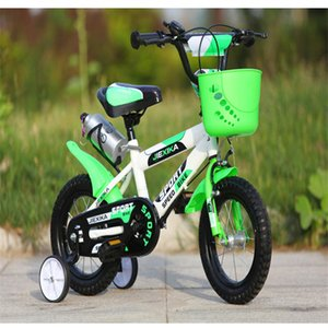Children's bike 14- inche Mountain Bike bicycle steel speed dual disc brakes variable road bikes