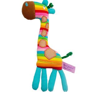 TONY LVEE arcobaleno Giraffe peluche 28CM dell'arcobaleno Animali impagliati Giocattoli Giraffe ripiene Dolls migliori regali di compleanno per i bambini giocattoli