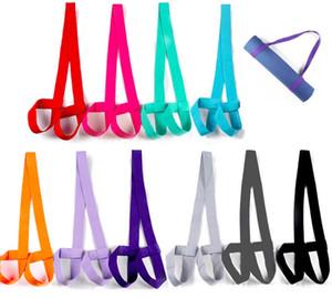 Réglable Sling Mat Sangle Fits pour toutes les tailles tapis de yoga stretching multifonctions Stripe Yoga